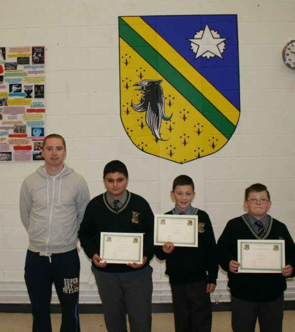 Congratulations to Award Winners December 2013